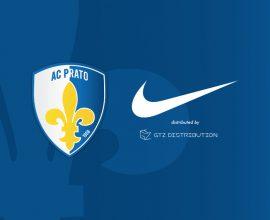Marchio Nike e A.C Prato insieme